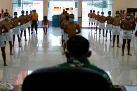Seleksi prajurit TNI-AD di Palangka Raya terapkan protokol kesehatan