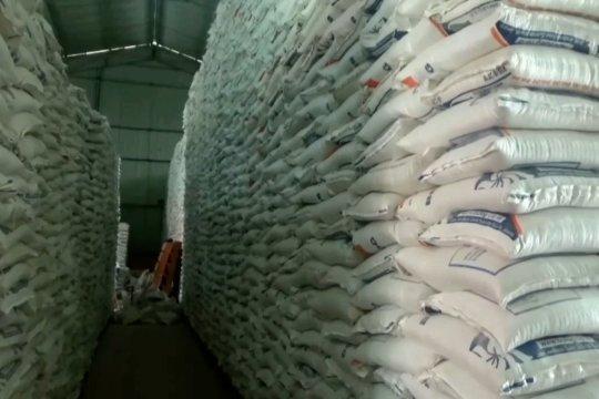 Stok beras nasional hingga lebaran dipastikan aman