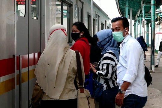 Dampak PSBB Bodebek terhadap jumlah penumpang KRL