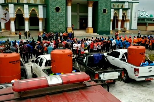 Islamic Center Sampit disulap jadi klinik COVID-19