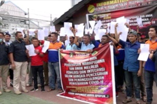 Lapas di Lumajang dan Medan bebaskan ratusan napi bertahap