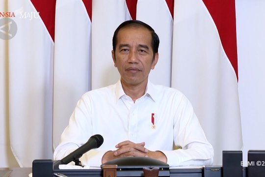 PSBB dimulai, ini pesan Presiden Jokowi kepada masyarakat