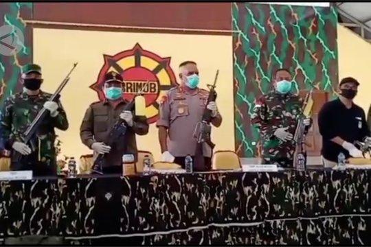 Tegakkan hukum, TNI-Polri tembak 7 KKB di Mimika