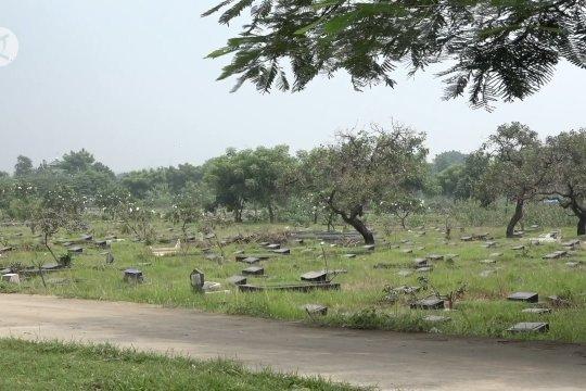 TPU Mangun Jaya, lokasi pemakaman jenazah terpapar COVID-19
