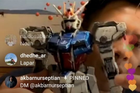 Merakit Gundam, Ariel Noah dapat kepuasan baru