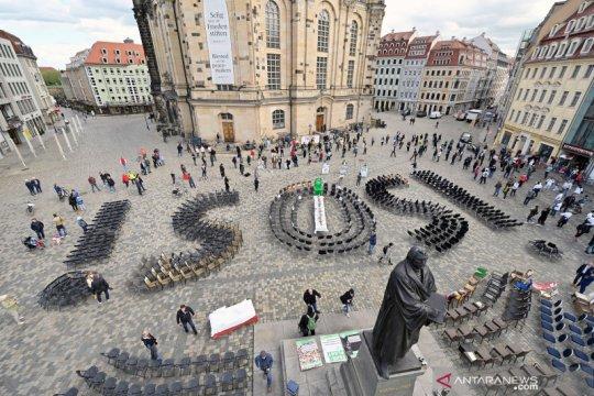 Kasus corona di Jerman tambah 1.251, total 168.551
