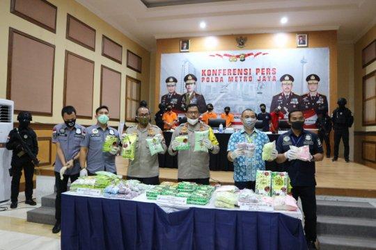 Polda Metro Jaya sita 46 kilogram sabu dan 65 ribu butir ekstasi