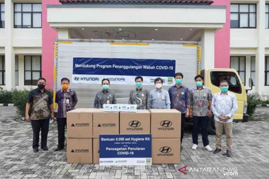 Bekasi terima bantuan 5.000 alat kebersihan dari Huyandai