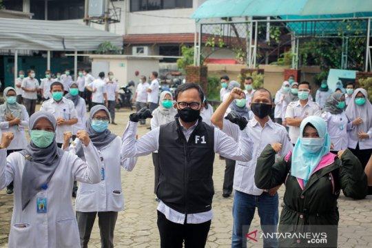 Bima Arya berikan semangat kepada pegawai RSUD Kota Bogor