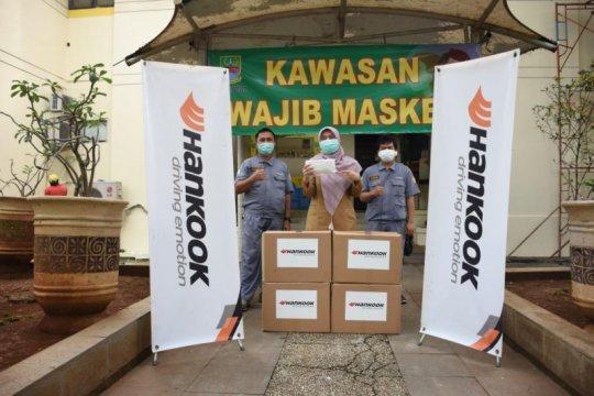 Hankook bagikan masker kesehatan untuk tenaga medis