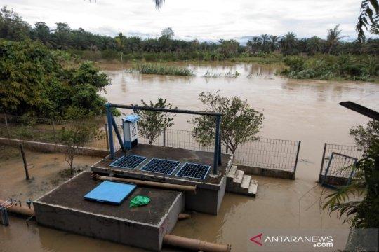 Banjir melanda lima wilayah kecamatan di Langkat
