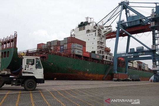 Pelindo II Panjang ekspor produk pertanian Lampung