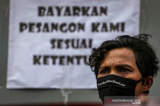 Tanpa aksi di Hari Buruh, serikat pekerja Jabar sampaikan 5 tuntutan