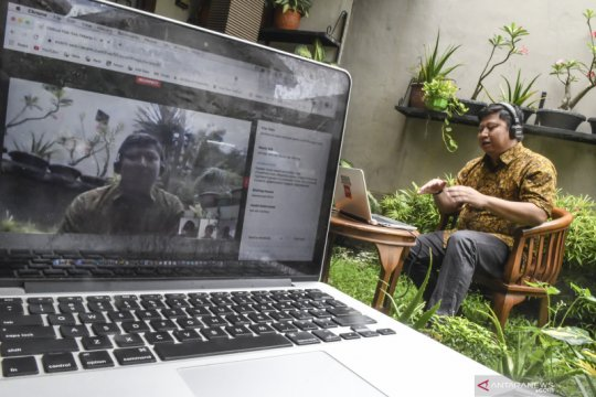 Diskusi daring Hari Buruh