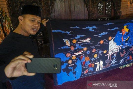 Corona jadi inspirasi tema batik