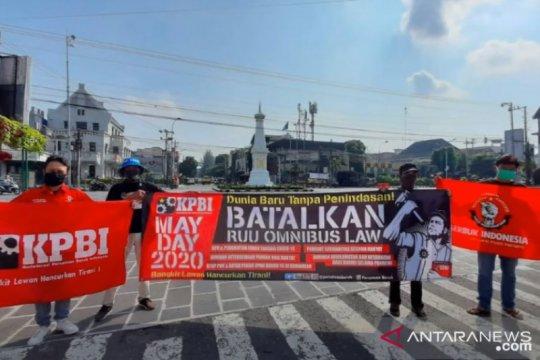 Hari Buruh, penolakan Omnibus Law jadi isu utama serikat buruh