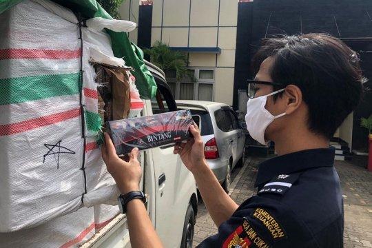 Bea Cukai Jateng-DIY selamatkan Rp7,29 miliar dari rokok ilegal
