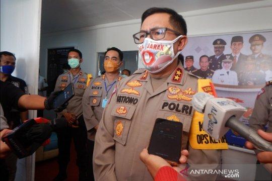 1.700 ranmor pemudik dari Jakarta diputar balik di gerbang Tol Ngawi