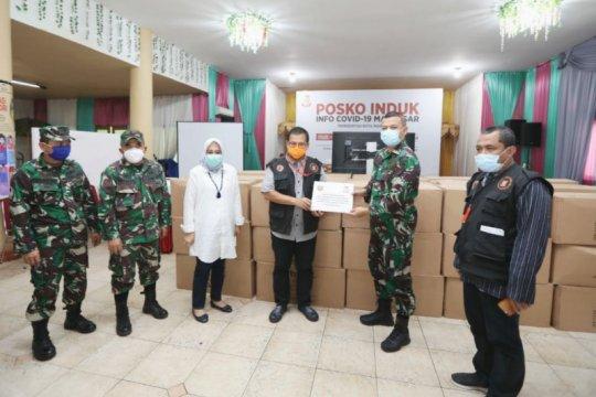 Kodim 1408/BS Makassar serahkan bantuan 3.000 APD