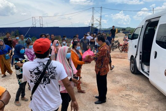 KJRI Johor Bahru perluas bantuan sembako untuk WNI