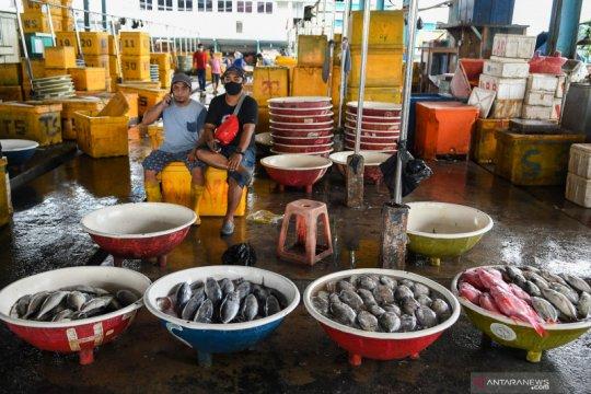 Penjualan ikan di Pasar Muara Angke anjlok hingga 70 persen