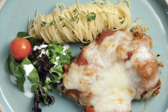 Menu Ramadhan - Chicken Parmigiana
