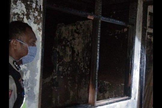 Sebuah rumah di Lenteng Agung terbakar jelang sahur
