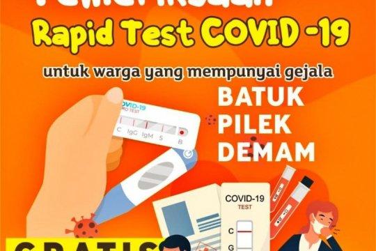 Pemkot Batam ajak warga tes cepat COVID-19 gratis