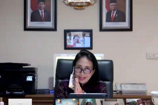 Menteri PPPA ajak guru hadirkan pembelajaran menyenangkan di rumah
