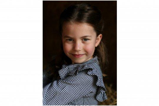 Puteri Charlotte dari Inggris rayakan ulang tahun kelima