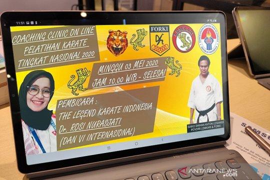 PB Lemkari gelar pelatihan karate nasional 2020 secara daring