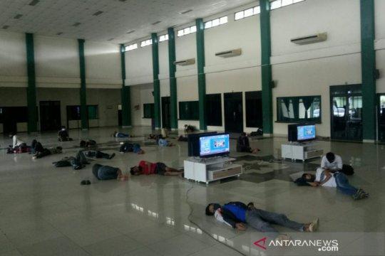 107 warga di Palembang terjaring razia masker dikarantina 24 jam