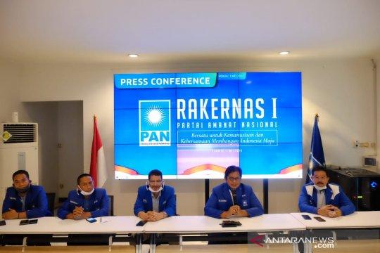 PAN: Rakernas bahas Perppu 1/2020 dan RUU Omnibus Law