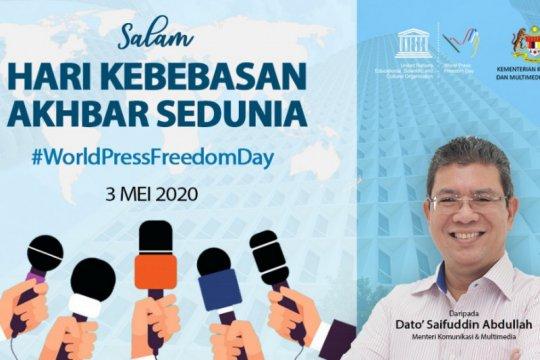 Malaysia alami peningkatan kebebasan media