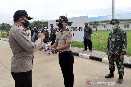 Dirawat RSKI Pulau Galang, 3 anggota Polri sembuh COVID-19
