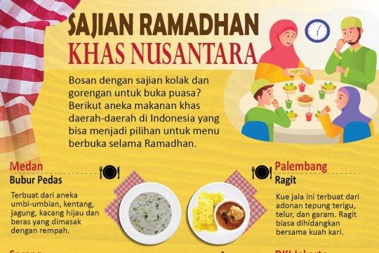 Sajian Ramadhan khas nusantara