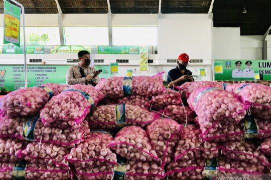 Lumbung pangan Jatim hasilkan transaksi Rp1,96 miliar selama dua pekan