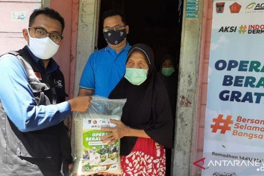 ACT Padang berikan bantuan 10 ton beras untuk warga Kota