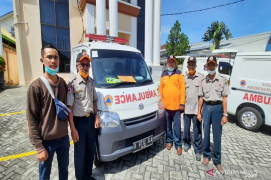 Gugus Tugas Tabalong-Barito Selatan miliki ambulans standar COVID-19