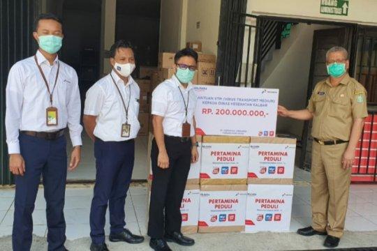 Pertamina beri bantuan VTM senilai Rp200 juta ke Dinkes-Kalbar