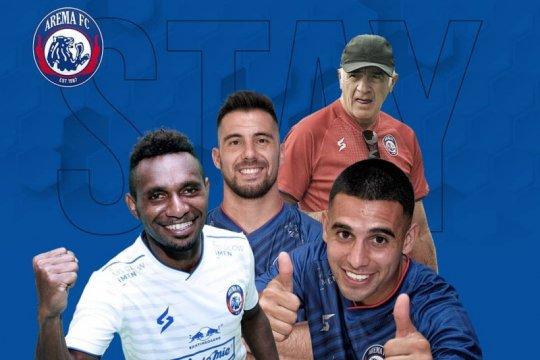 Tiga legiun asing Arema FC masih bertahan di Malang