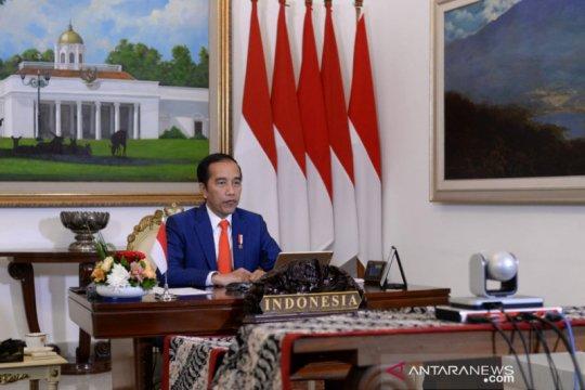 Presiden Jokowi ikuti KTT Gerakan Non-Blok virtual, bahas COVID-19