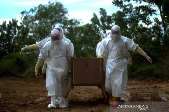 Pemakaman jenazah PDP COVID-19 di Tarakan