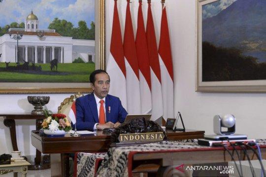 Presiden Joko Widodo ikuti KTT Gerakan Non-Blok secara virtual