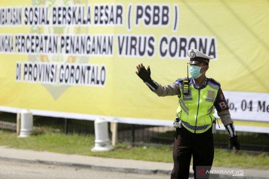 Sosialisasi pencanangan PSBB di Gorontalo