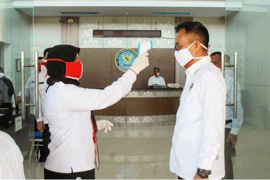 Personel BNN Provinsi Aceh jalani pemeriksaan COVID-19