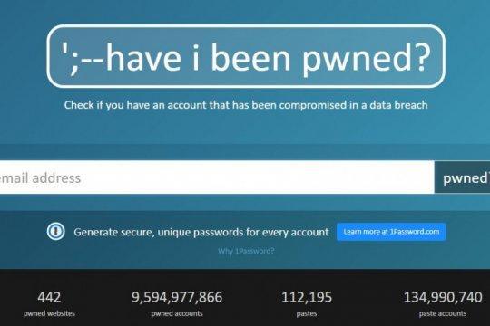 Cara mudah cek apakah email kita dibobol hacker
