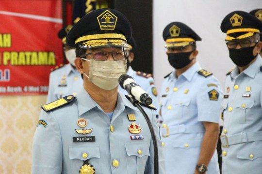 Pejabat Kemenkumham Aceh dilantik secara virtual oleh Menkumham