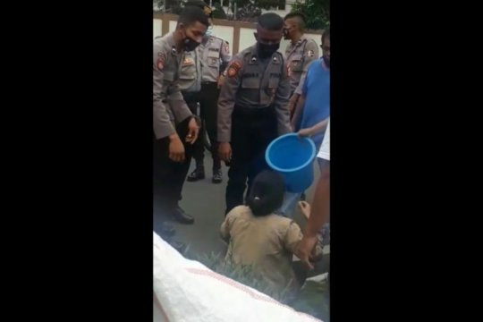 Pelaku penyiram air keras terhadap wanita di Pancoran ditangkap