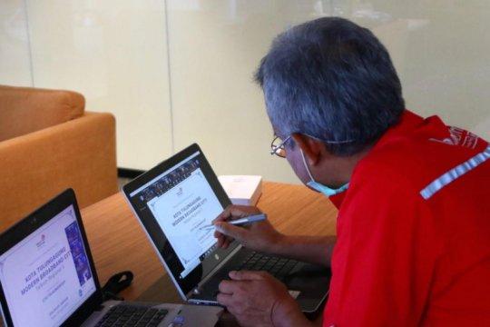Telkom konsisten percepat digitalisasi ibu kota kabupaten